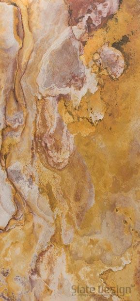 Indian Autumn podsvietené obklady z kamennej