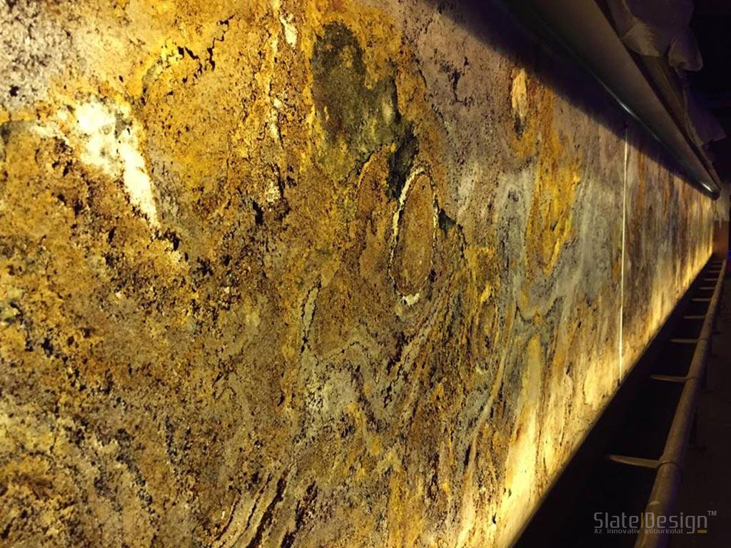 No. 1 Pub - translucentná kamenná dyha