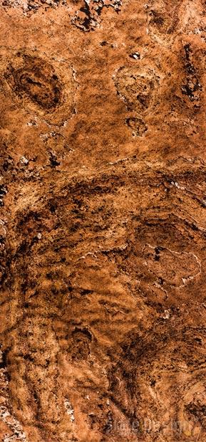 Terra Red Translucent podsvietené obklady z kamennej