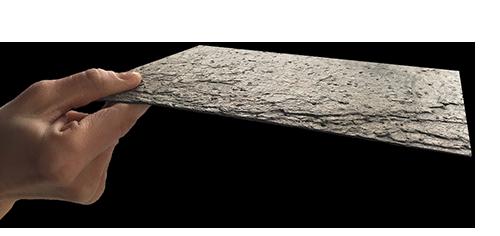Najtenší kamenný obklad na svete