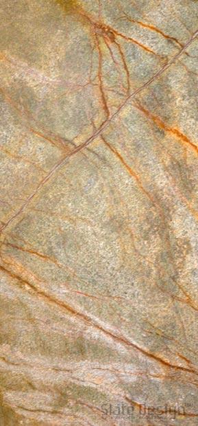Rainforest Green podsvietené obklady z kamennej